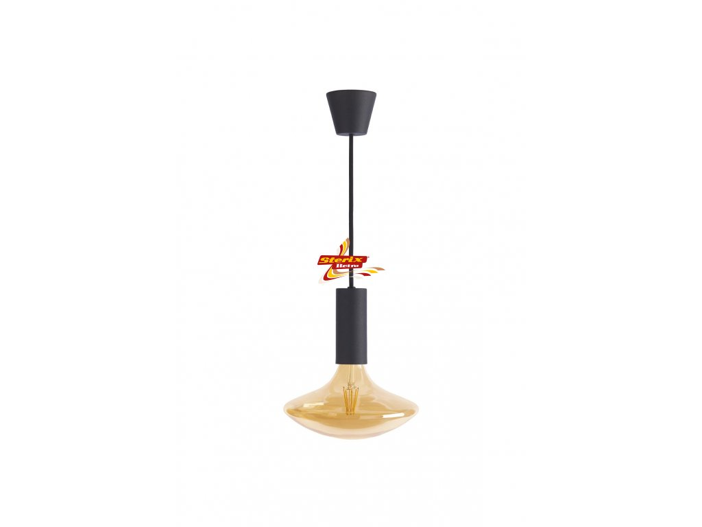SYLCONE PENDANT BLACK RETRO GA200