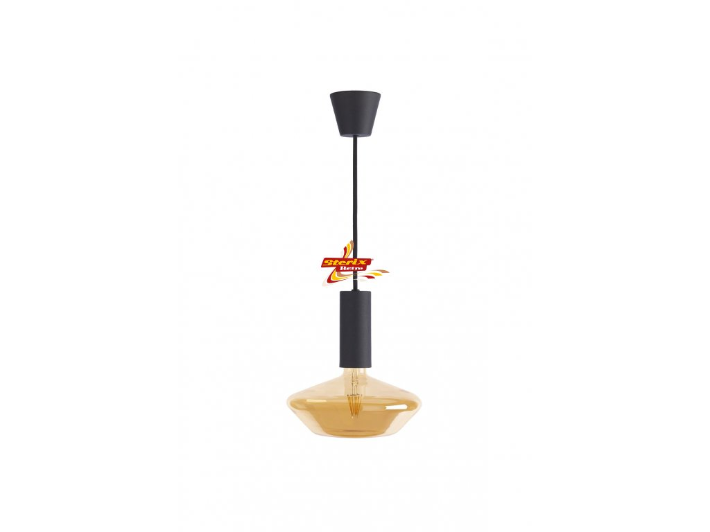 SYLCONE PENDANT BLACK RETRO DC200