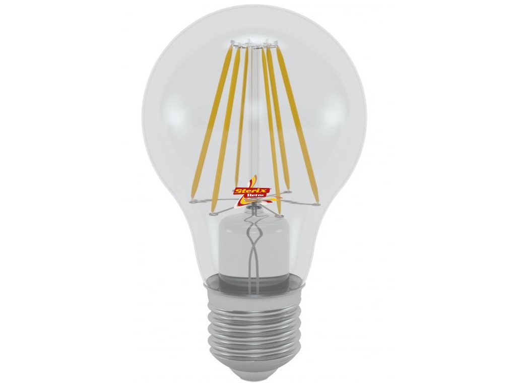 LED GLS A60 HPFL-2710D 10W E27 4200K retro LED žárovka