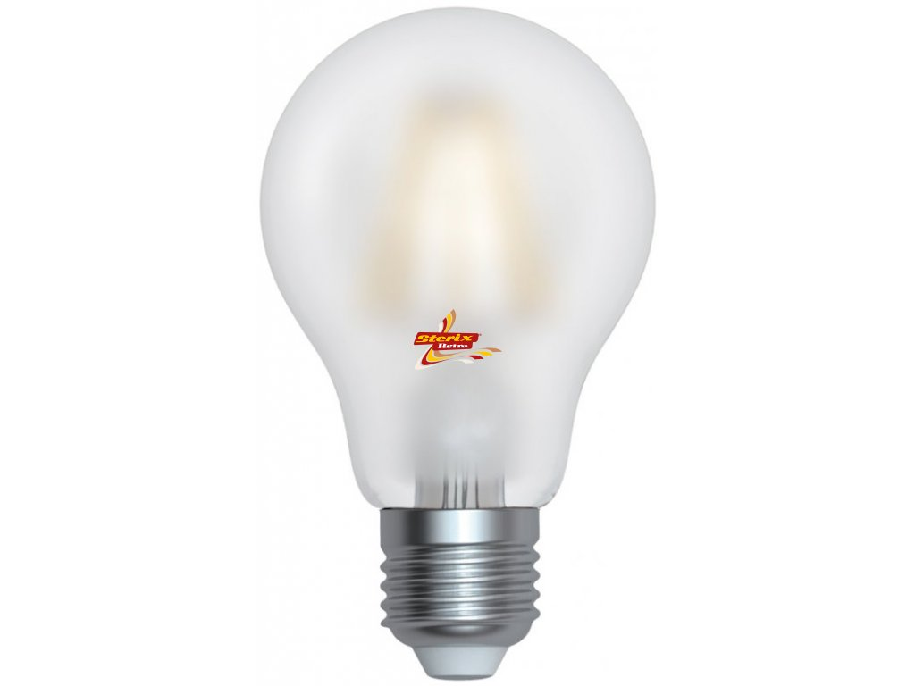 LED GLS A60 HPFL-2706SD 6W E27 4200K retro LED žárovka