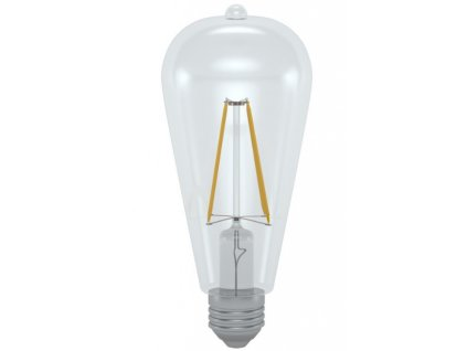 LED ST64-2706D 6W E27 4200K retro LED žárovka