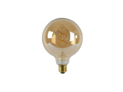 EDISON LED žárovka G125 Gold