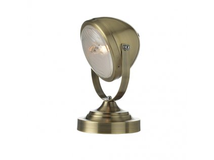 Stolní retro lampa Headlight Brass