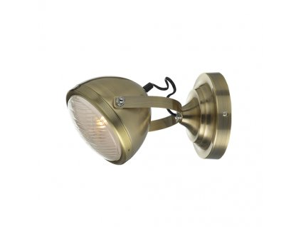 Headlight Brass Wall