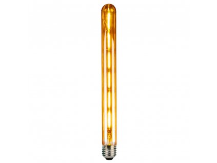 LED Tubular T30 Gold E27 6W 2700K retro LED žárovka