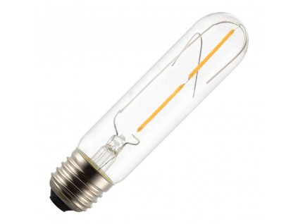 LED Tubular T30 E27 2W 2700K retro LED žárovka