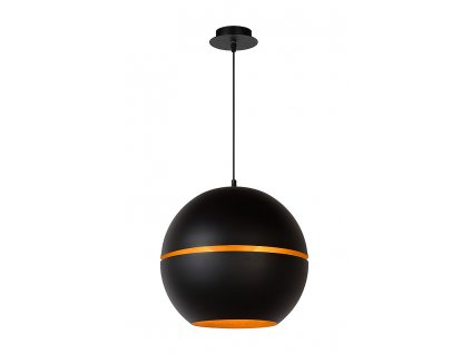 BINARI - Pendant light - Ø 35 cm - Black