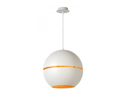 BINARI - Pendant light - Ø 35 cm - White