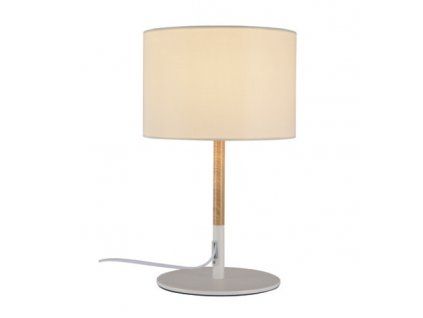 Stolní lampa Fabric White