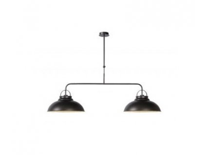 HAMOIS - Pendant light - Ø 40 cm - Grey iron