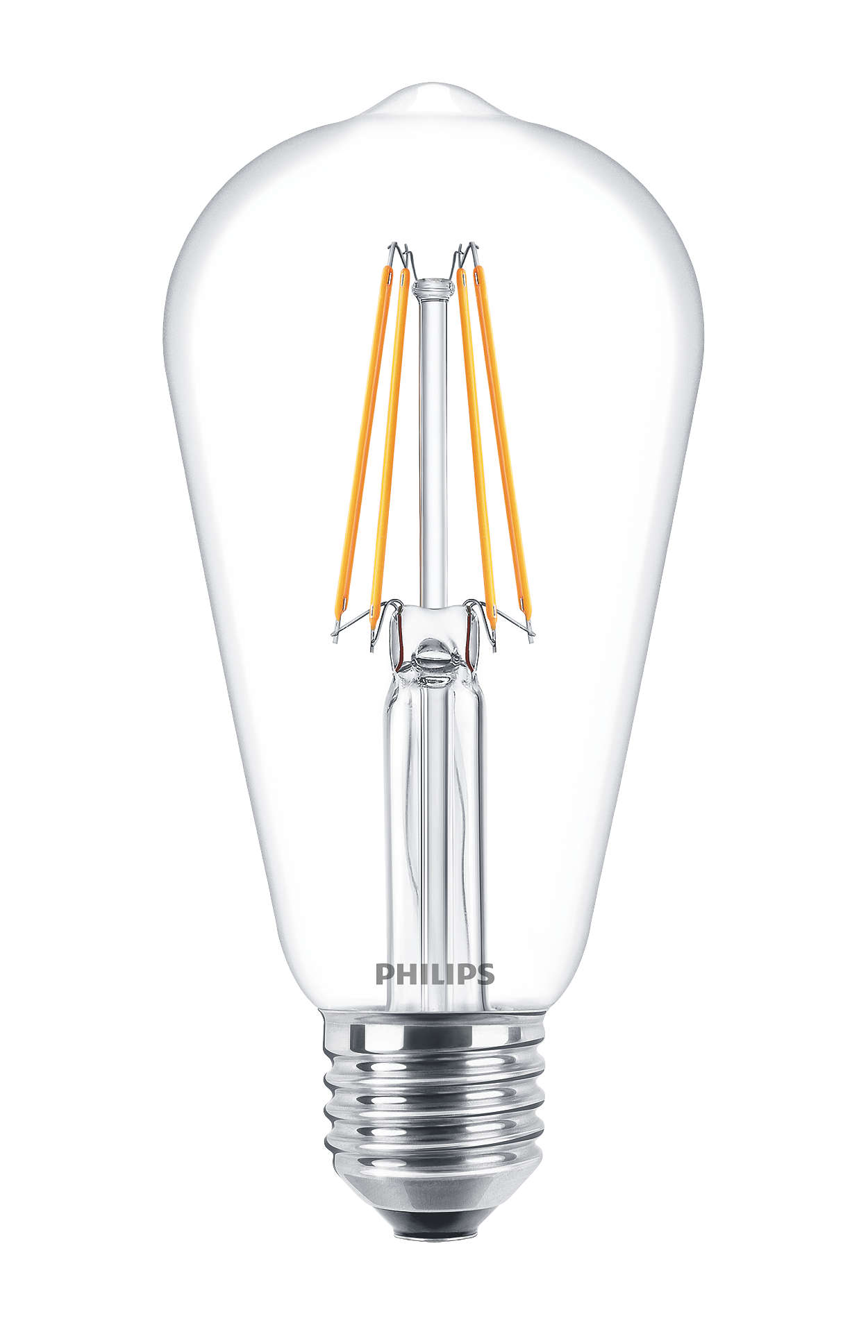PHILIPS FILAMENT Classic LEDbulb ND 6-60W E27 827 ST64 retro LED žárovka