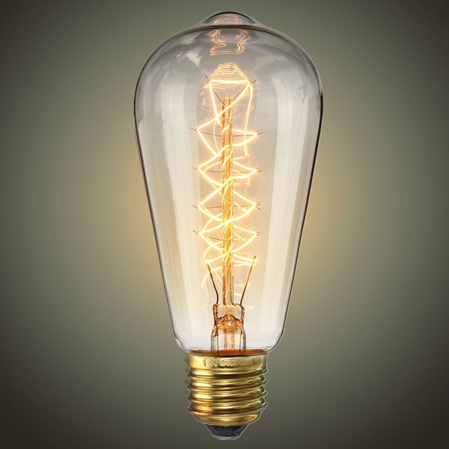 ACA Lighting EDISON retro žárovka ST64 40W E27