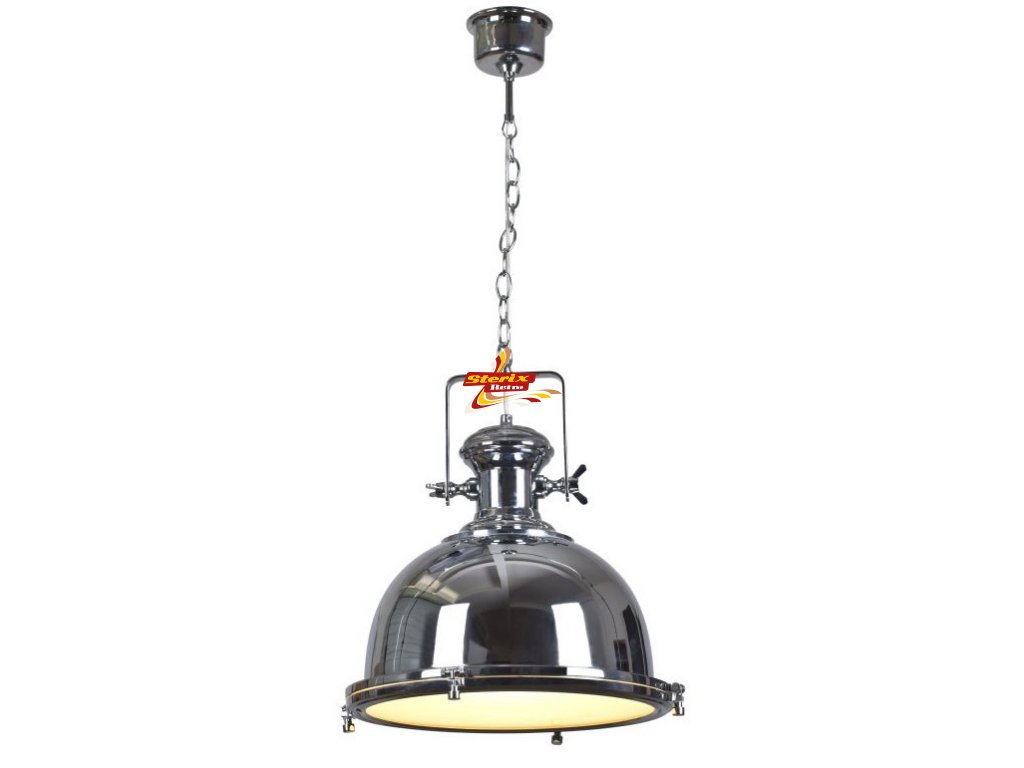 OLD BURDIE - Pendant light - Ø 44 cm - Chrome