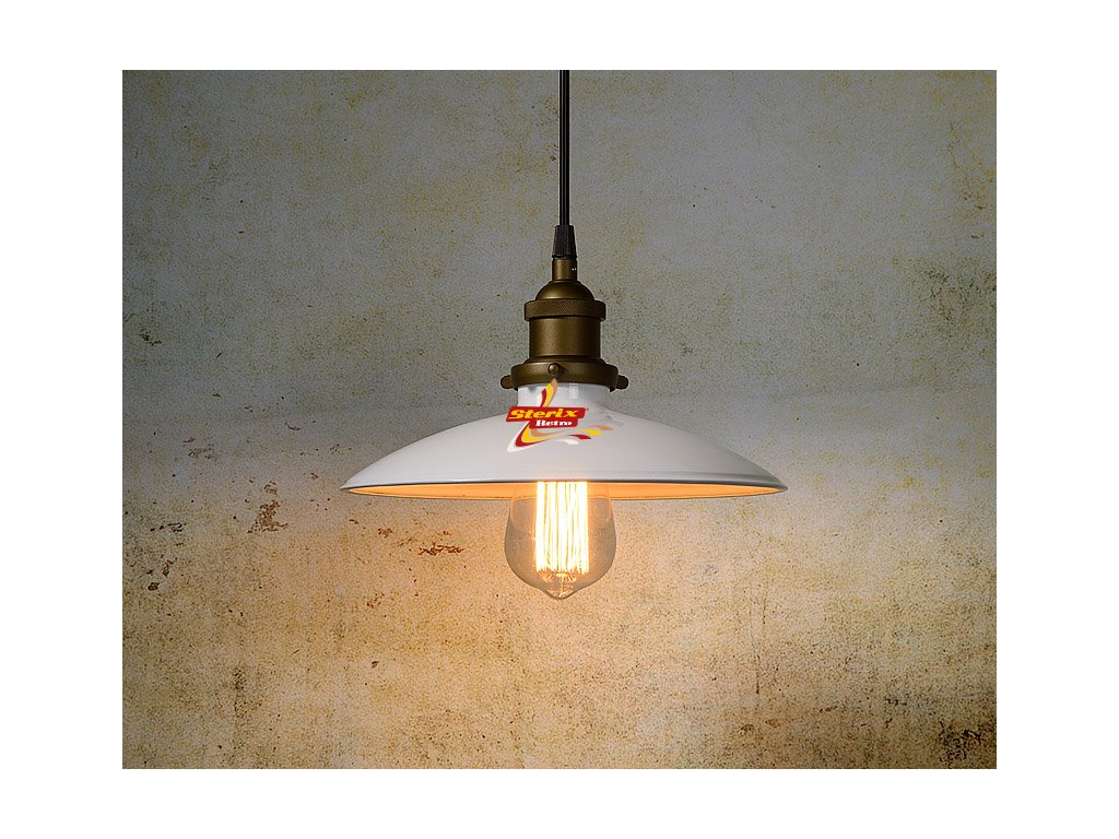 BISTRO - Pendant light - Ø 25 cm - White
