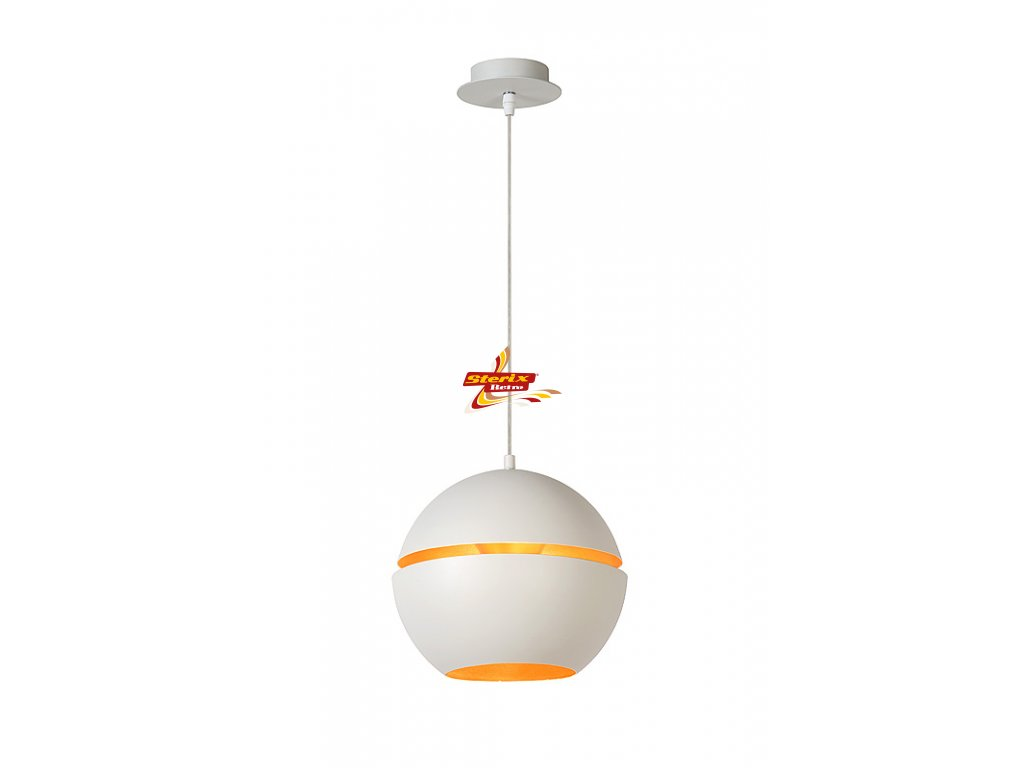 BINARI - Pendant light - Ø 25 cm - White