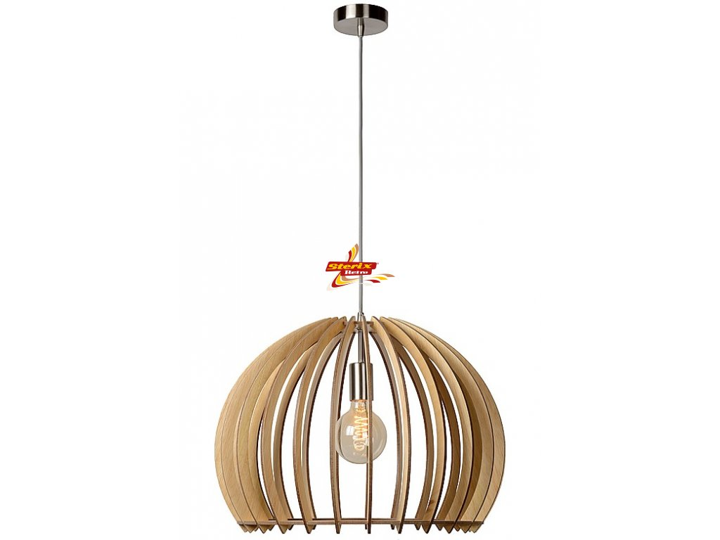 BOUNDE - Pendant light - Ø 50 cm - Wood