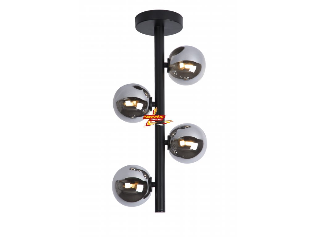 TYCHO - Flush ceiling light - G9 - Black