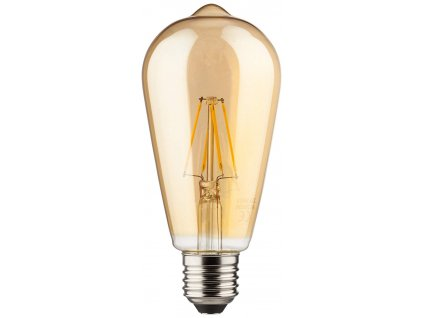 Retro LED žiarovka ST64 Gold 8W/880lm/2700K/E27
