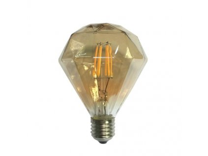 LED Decorative E27 Gold retro LED žiarovka