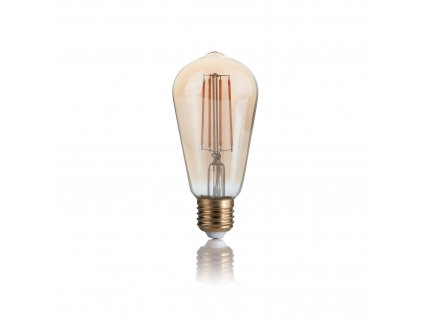 LED EDISON ST64 retro LED žárovka
