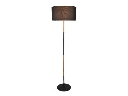 Stojaca lampa Fabric Black