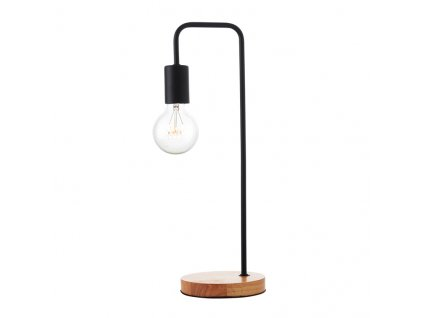 Stolná lampa Wood Black