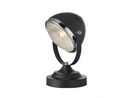 Stolná retro lampa Headlight Black