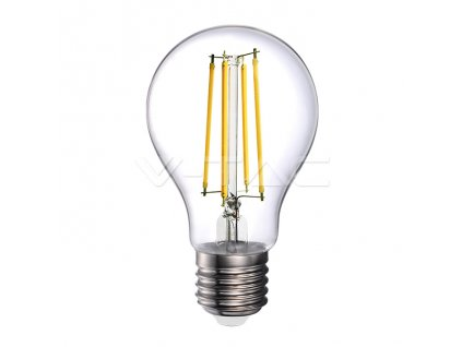 LED Filament E27 A70 Amber Cover 4000K