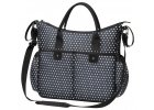 Baby Ono přebalovací taška na kočárek So City hvězdičky černá (1)