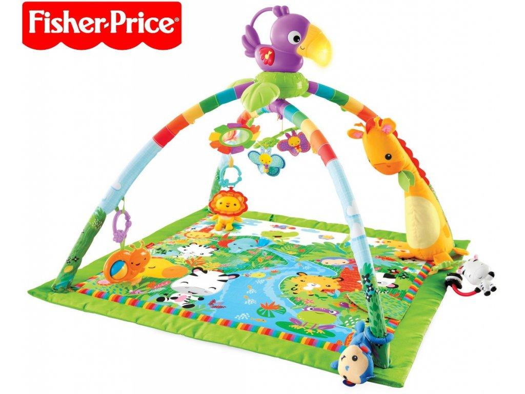 df8bb146e Fisher-Price Rainforest Deluxe hrací deka s hrazdičkou - Obchod ...