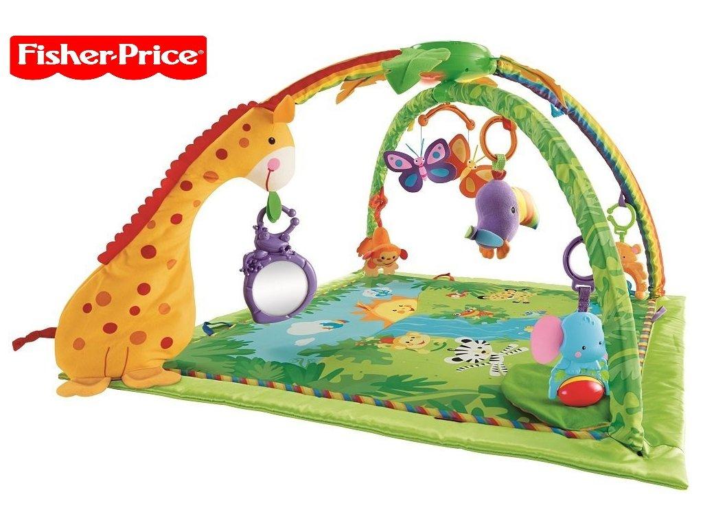 af4f9cec4 Fisher-Price Rainforest hrací deka s hrazdičkou K4562 - Obchod ...