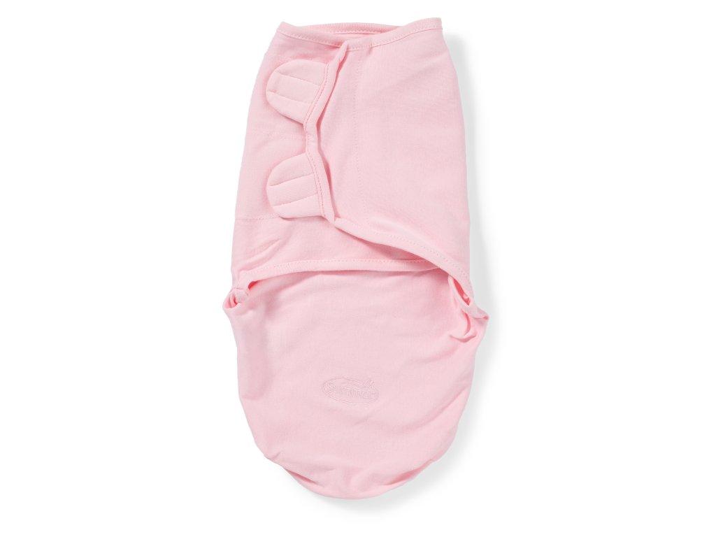 Summer Infant SwaddleMe zavinovačka - růžová - Doprava zdarma velikost: S (3,2-6,4kg) od narození do cca 3 měsíců