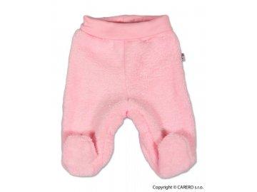 Fleecové polodupačky Baby Service Chlupáček růžové