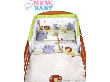 New Baby 2 dílné povlečení Safari