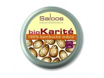 Bio Karité 100% BAMBUCKÉ MÁSLO 50ml Saloos
