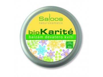 Bio Karité Balzám Devatero kvítí 50 ml Saloos
