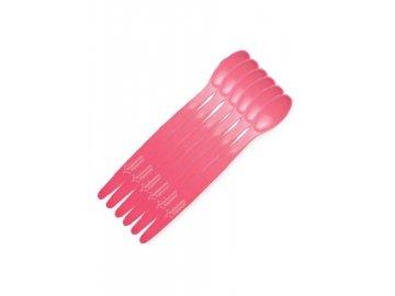 Dětské lžičky Tommee Tippee 6ks - růžové