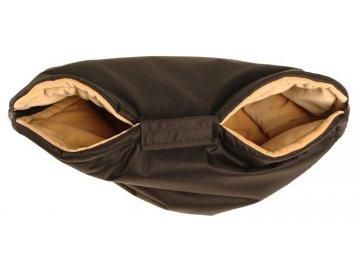 Kaarsgaren rukávník na kočárek černo béžový