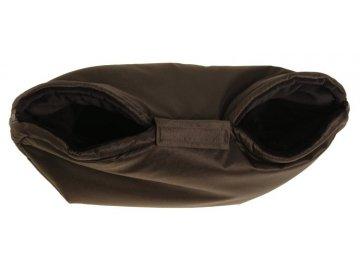 Kaarsgaren rukávník na kočárek černo černý