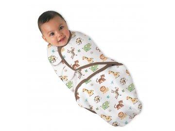 Summer Infant SwaddleMe zavinovačka - zvířátka z džungle