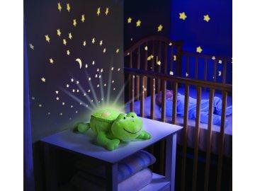 Usínáček se světly a zvuky - Summer Infant Kámoš na spaní Žabka