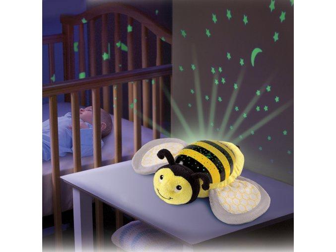 Usínáček se světly a zvuky - Summer Infant Kámoš na spaní Včelka