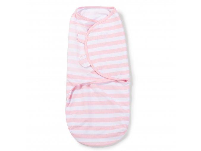 Summer Infant SwaddleMe zavinovačka - růžový-bílý proužek