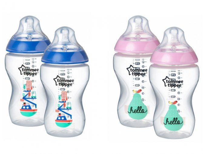 Tommee Tippee kojenecké láhve 340ml barevné nové modré