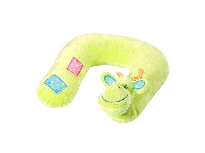 Baby Ono Cestovní polštářek Žirafka zelený 3