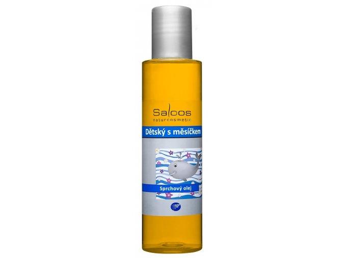 Sprchový olej detsky s mesickem
