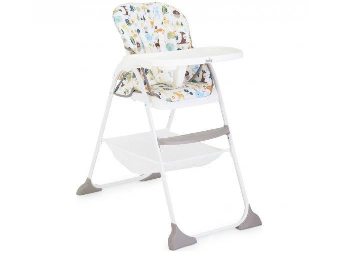 Jídelní židlička Joie Mimzy Snacker alphabet (2)
