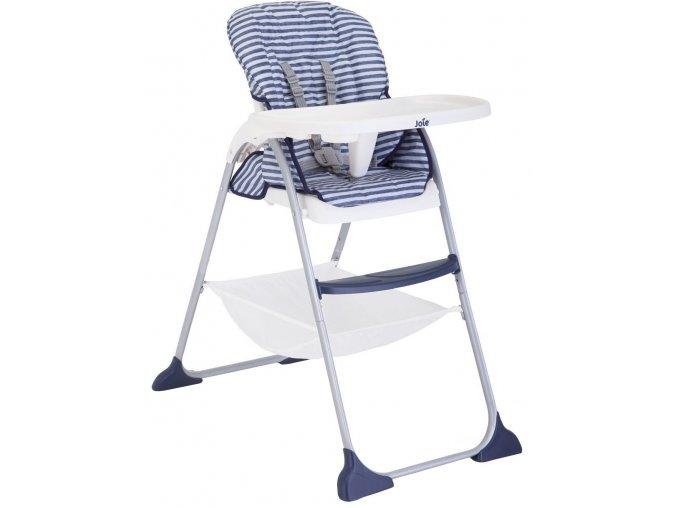 Jídelní židlička Joie Mimzy Snacker Denim (6)