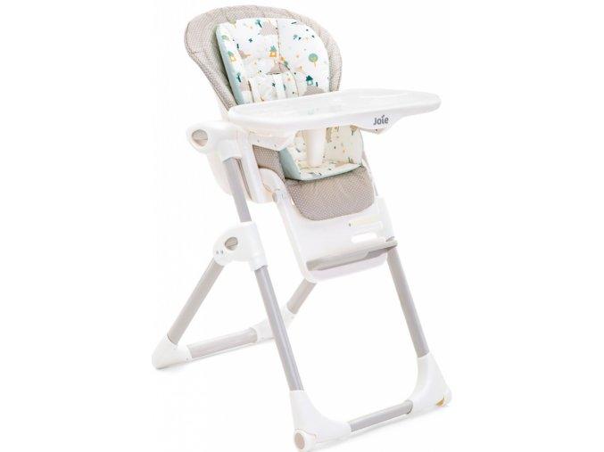 Jídelní židlička Joie Mimzy LX Little world (5)