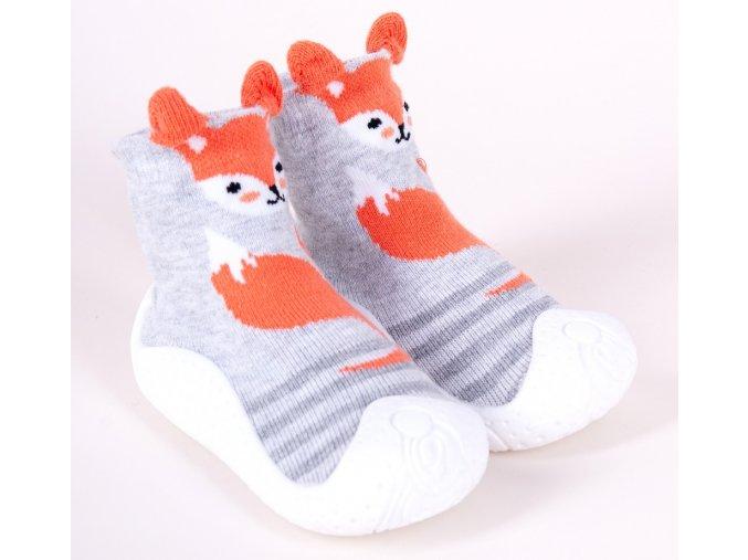 YO Ponožky s gumovou podrážkou chlapecké